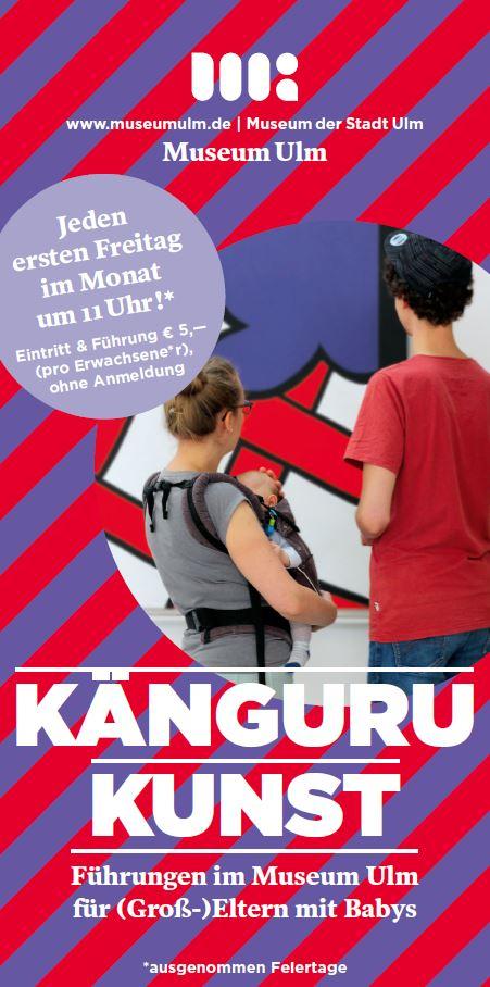Känguru-Kunst im Museum